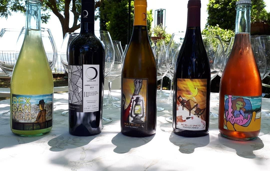 LumiLuna, La Carneria e Umbria Wine Club