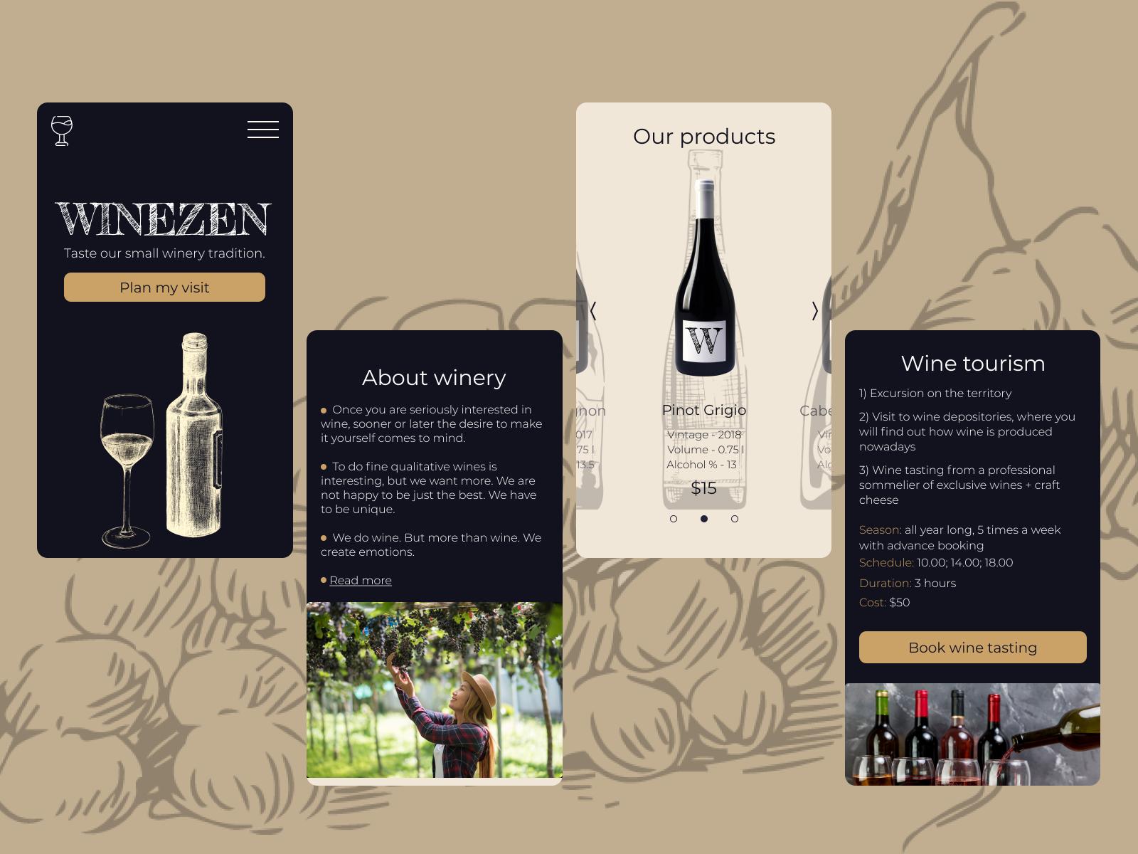 Come creare una landing page efficace nel settore del vino
